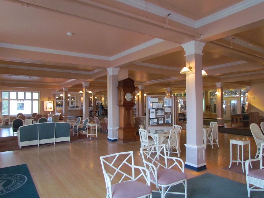 Views Of The Lobby And Lounge At Lake Yellowstone Hotel.